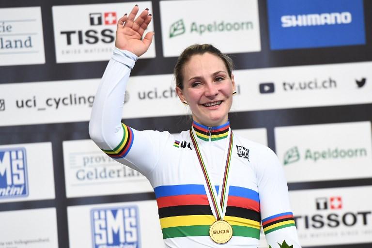 La ciclista Kristina Vogel se queda tetraplégica