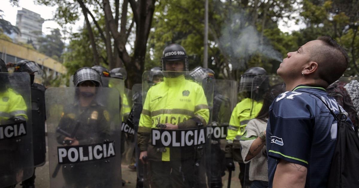 Fotos: Disturbios, capturas, decomisos y mucha marihuana: las imágenes que dejó la 'fumatón'