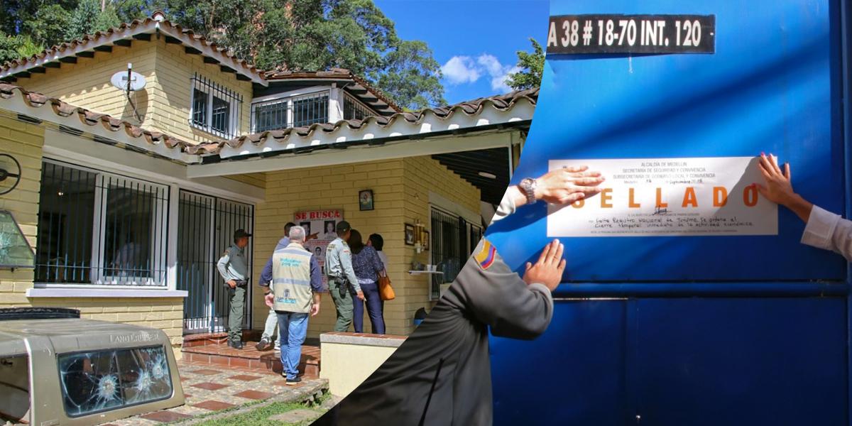 Sellado museo en memoria a Pablo Escobar en Medellín