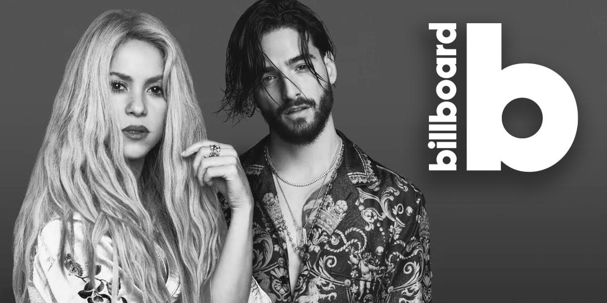 Los # 1 en Billboard — Shakira y Maluma