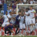 golazo messi tiro libre barcelona PSV Eindhoven