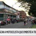 motociclista atropelló transeunte en Bogota