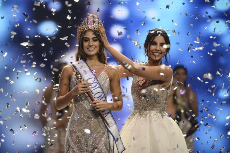 Admirable respuesta de Miss España a la señorita Colombia