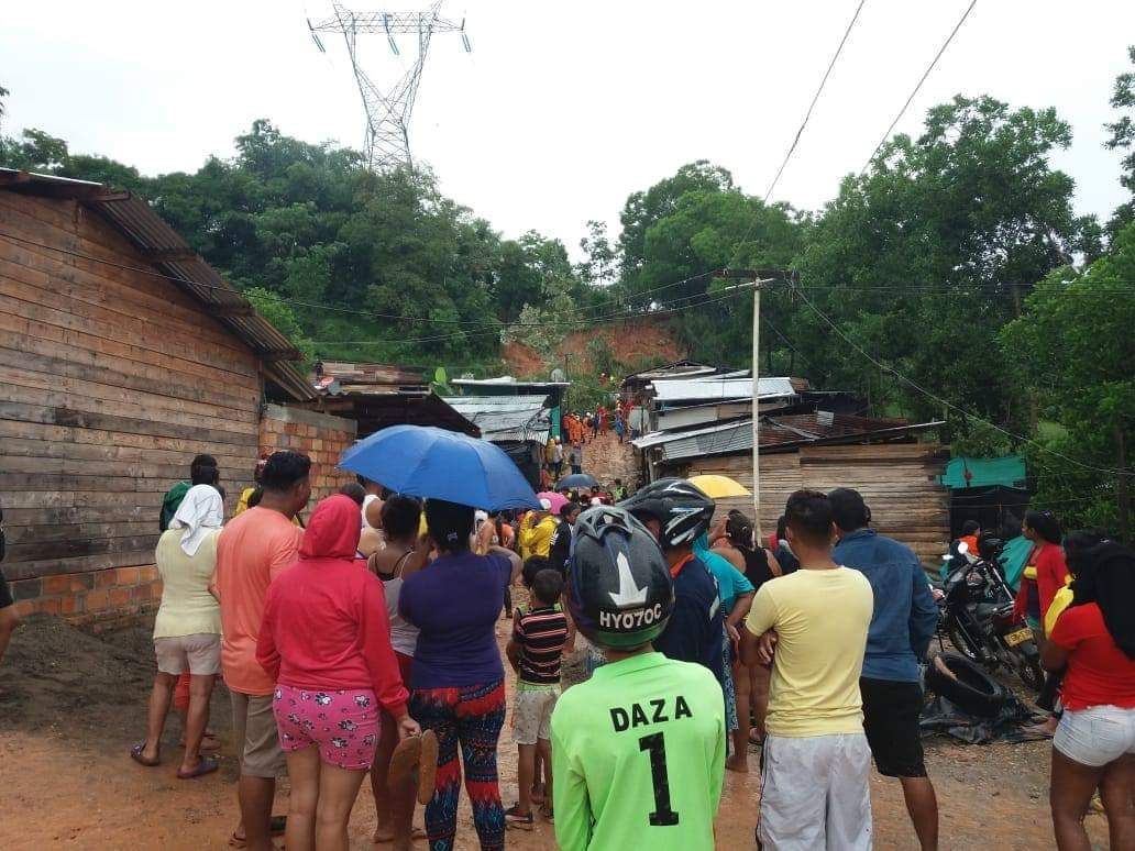 Aumenta a nueve el número de muertos por un deslizamiento en Colombia
