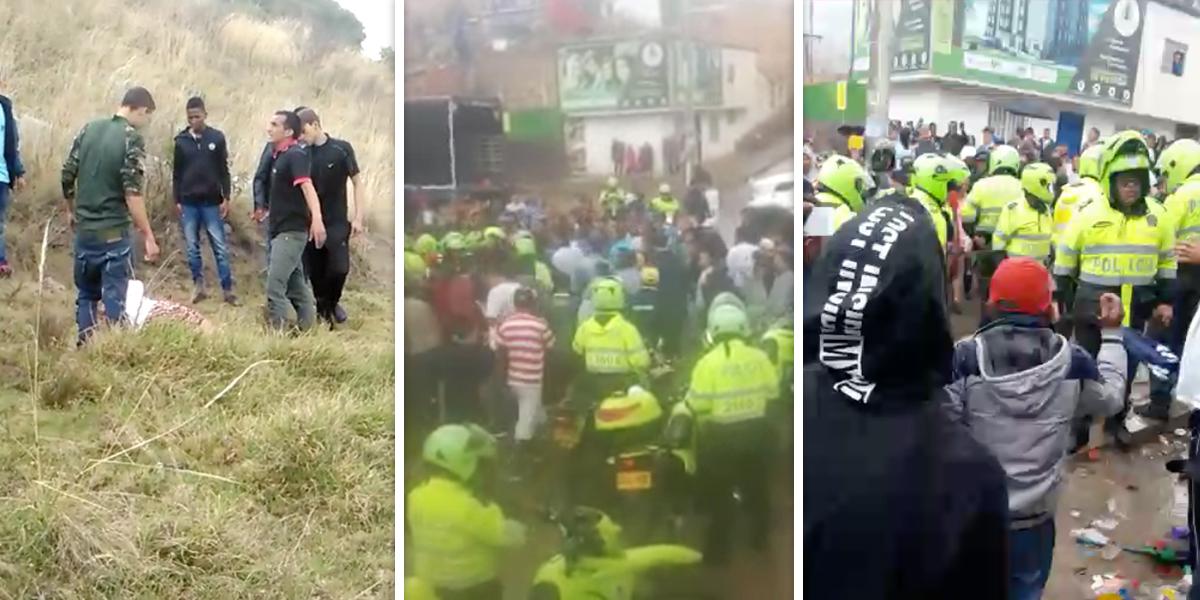 Hombre acusado de secuestrar niños en Bogotá muere tras ser linchado