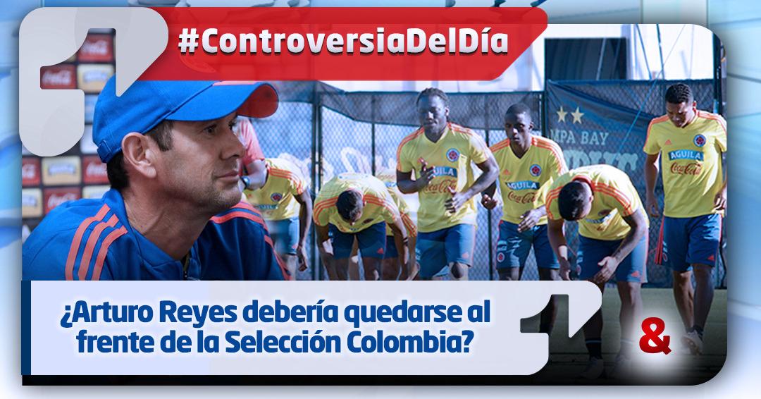 Gran balance de Arturo Reyes con la Selección Colombia