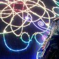soda stereo show laser planetario de bogota