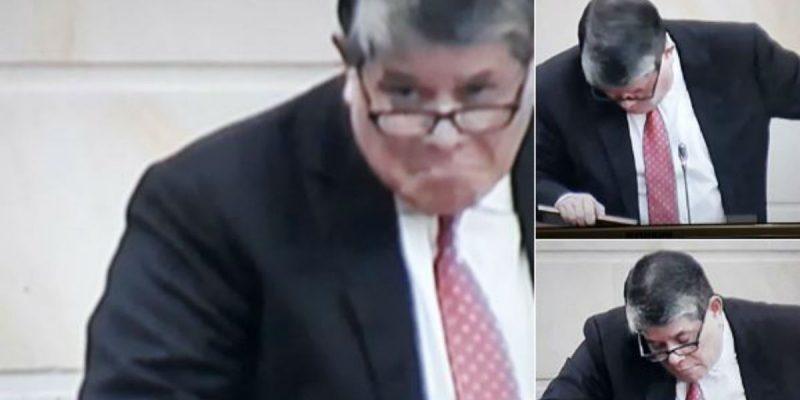 senador antonio zabarain borracho debate odebrecht