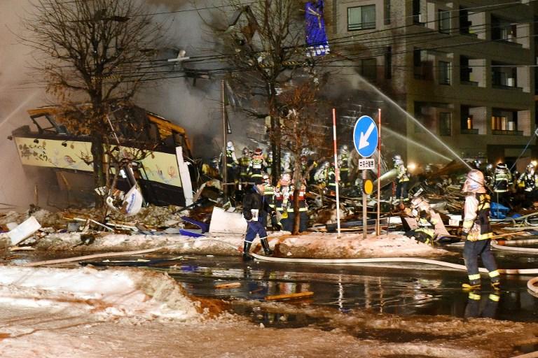 42 heridos tras una explosión en un restaurante de Sapporo