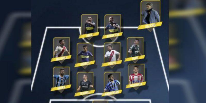 equipo ideal de la copa libertadores de america 2018