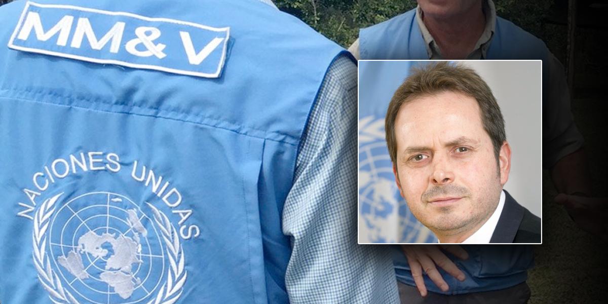 Diplomático mexicano es nuevo representante especial de ONU en Colombia