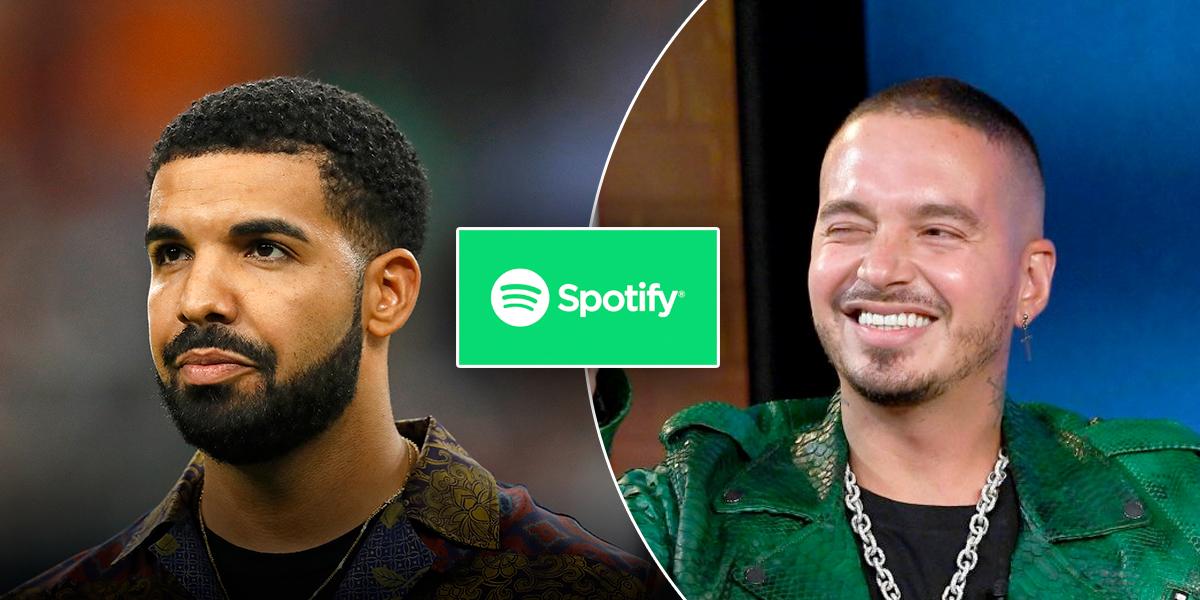 Drake, el más escuchado en Spotify en 2018, J Balvin en cuarta posición