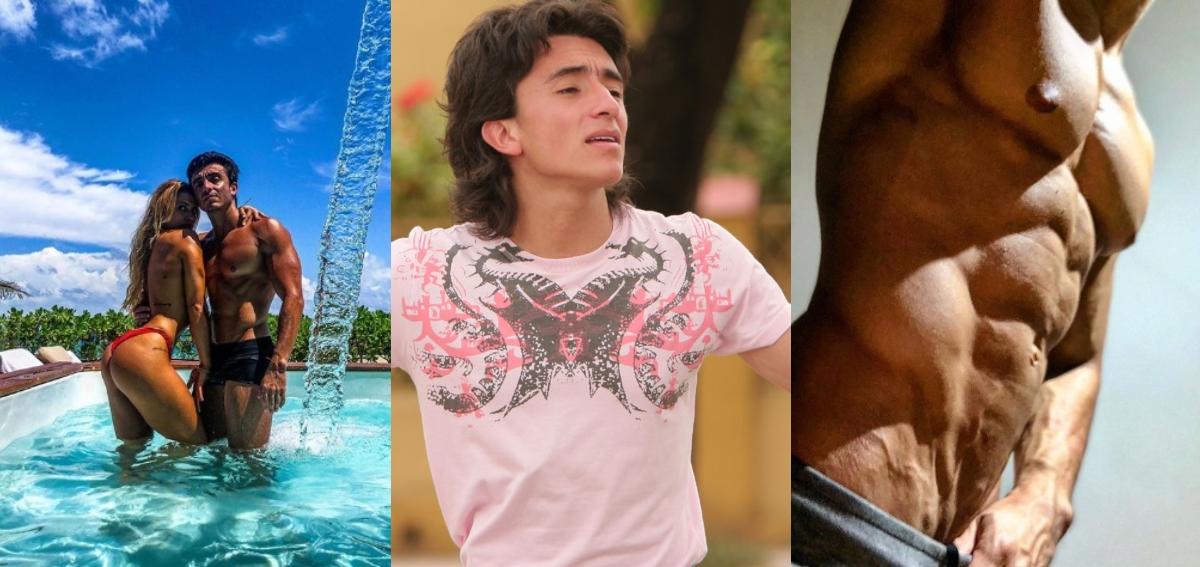 El impactante antes y después de Francisco Bolívar,  Jota en 'Antes del Final del Paraíso'