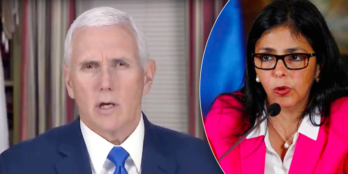 Vicepresidente de EEUU envía un mensaje a los venezolanos