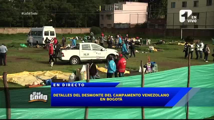Polémica porque se acaban los campamentos venezolanos