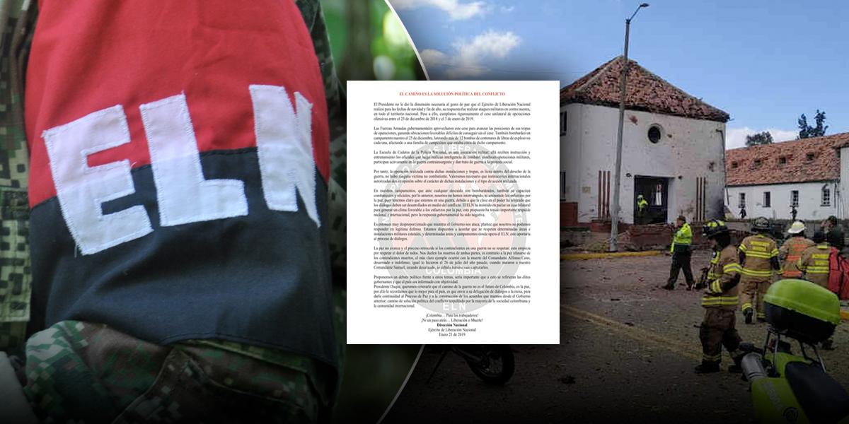 Colombia pidió apoyo internacional en petición de extraditar al ELN
