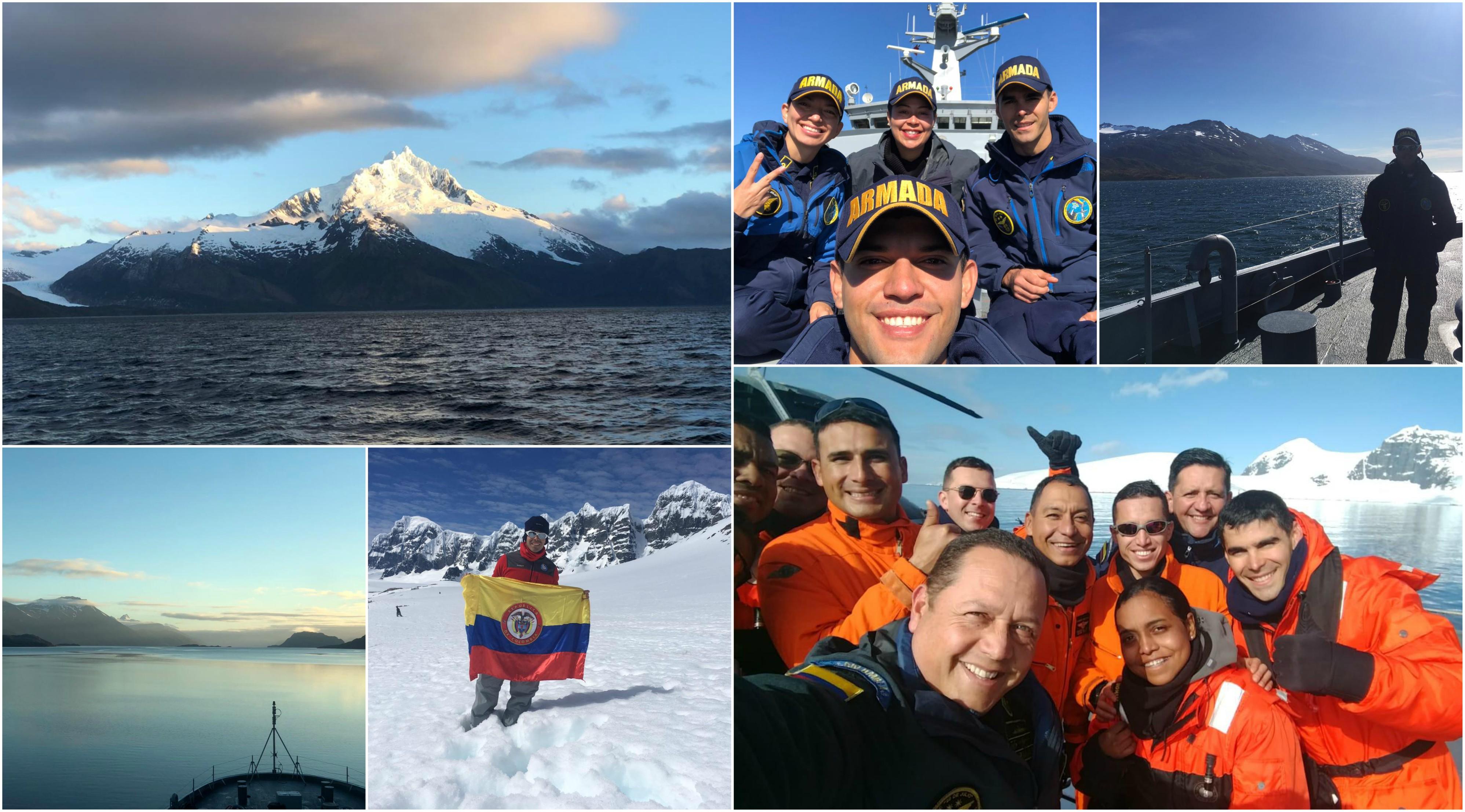 galeria fotos de la antartida expedicion de colombia armada nacional