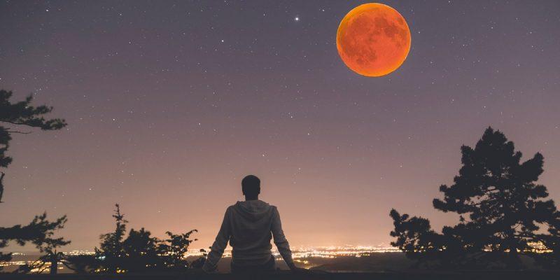 horario luna de sangre eclipse roja domingo 20 de enero colombia
