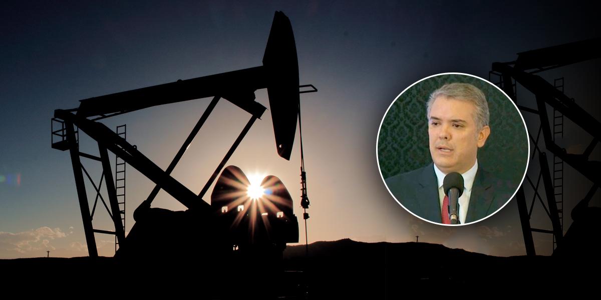 Presidente Duque celebra hallazgo petrolero en Cabuyaro, Meta