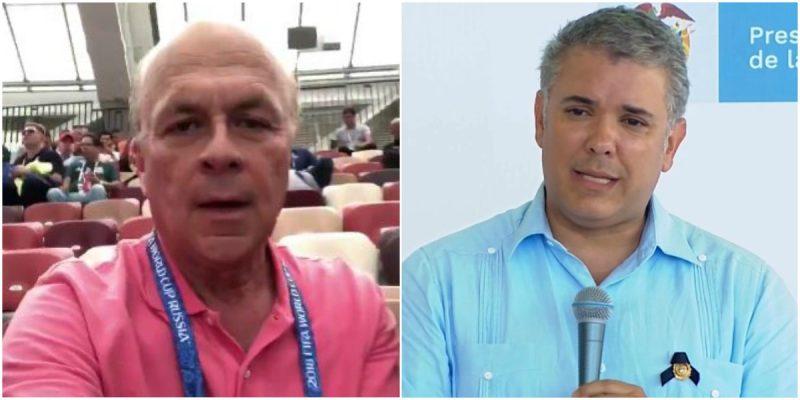 profe velez critica al presidente ivan duque