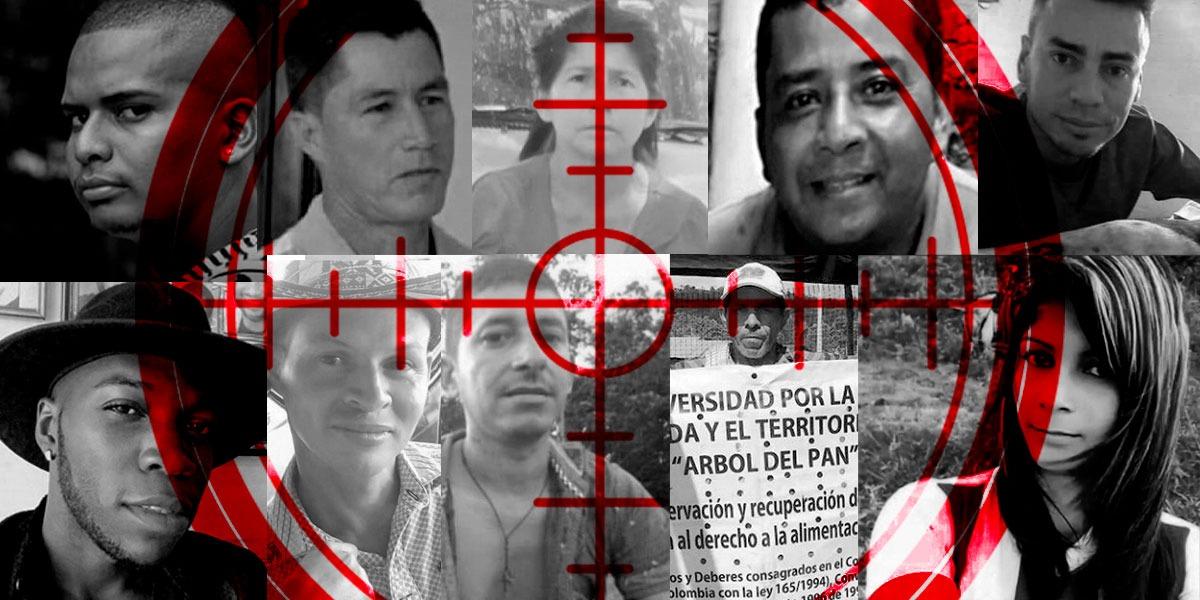 quien mata a los lideres sociales Comisión Colombiana de Juristas