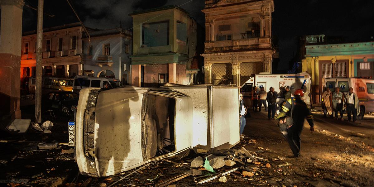 Asciende a 307 la cifra de lesionados por tornado en La Habana