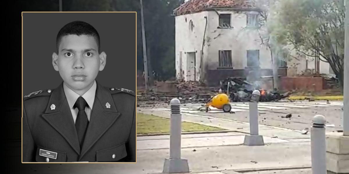 Muere otro cadete del atentado del ELN en Bogotá
