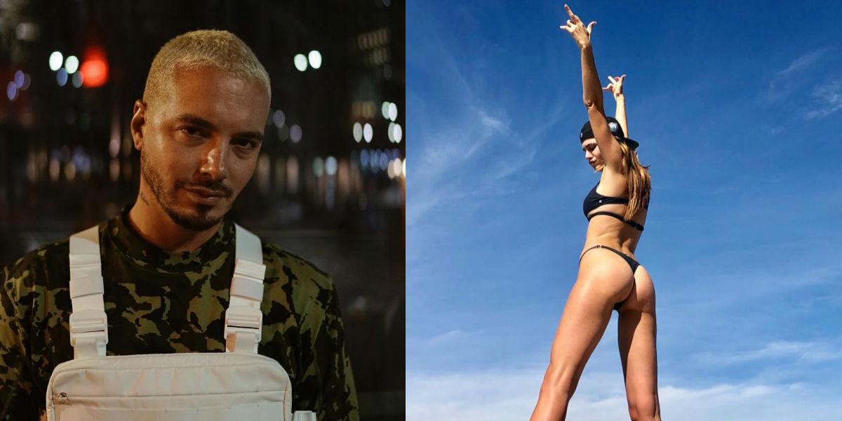 J Balvin confirmaría su relación con una modelo argentina