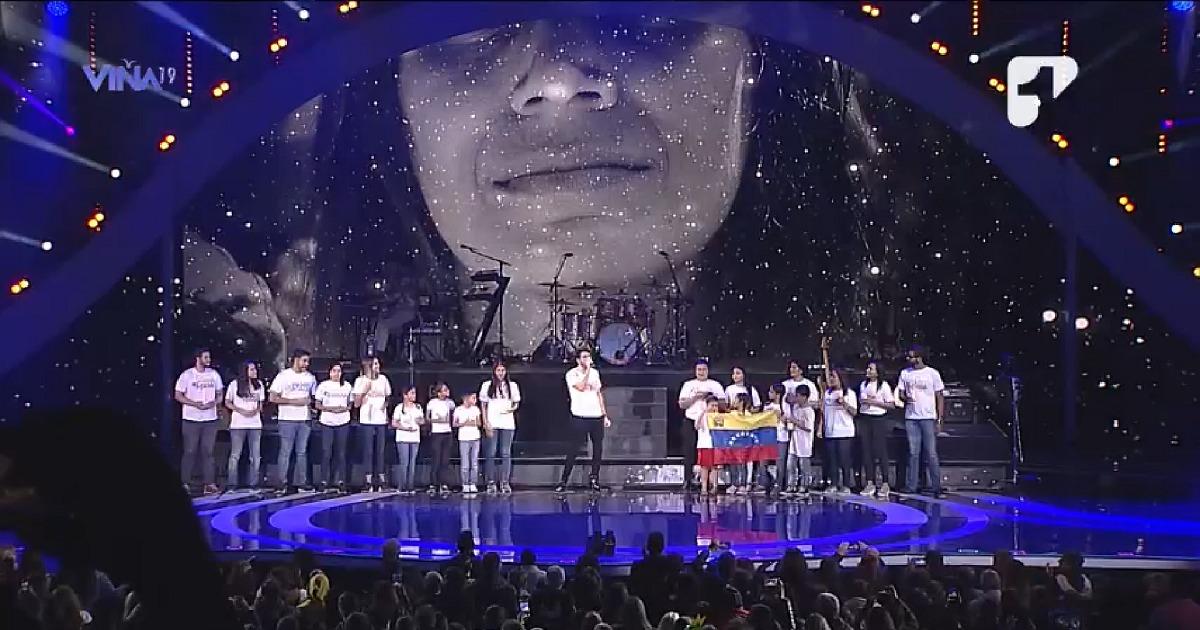 #VolverACasa: Sebastián Yatra aprovechó Viña del Mar para enviar mensaje a Venezuela