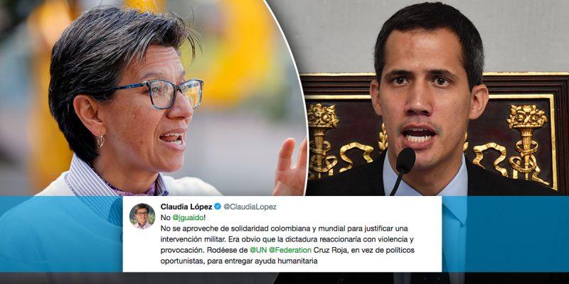 Venezuela - La conducta blanda del gobierno de Colombia condenara a muerte a millones de venezolanos  Claudia-guaido-800x400