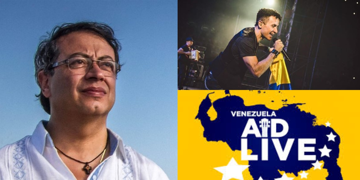 Chyno y Nacho vuelven a cantar juntos en el Venezuela Aid Live