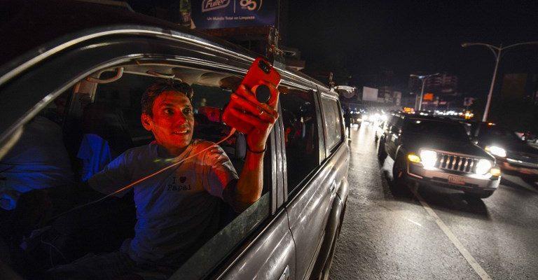 Medios internacionales destacan a Guaidó y su respuesta al mega apagón nacional