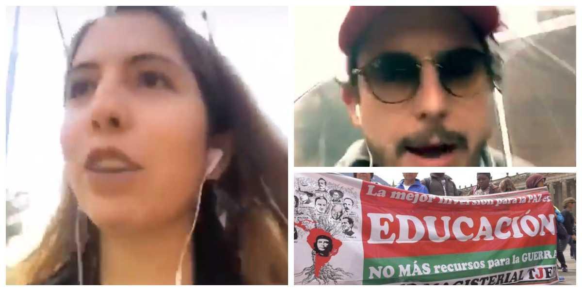 """""""Estoy en contra de todo lo que huela a izquierda"""", Isabella Wills despierta burlas por su video en contra de la marcha de profesores"""