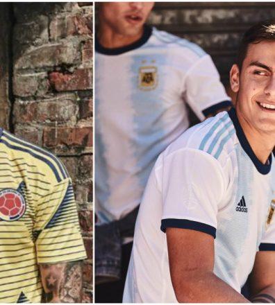 camiseta oficial adidas seleccion colombia argentina