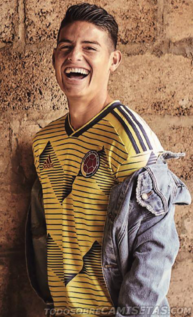 nueva camiseta seleccion colombia 2019 copa america 1