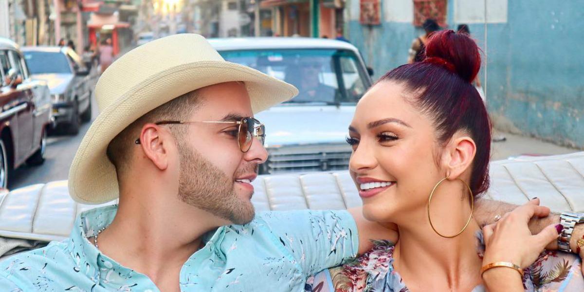 Kimberly Reyes y Federico Severini hicieron lujosa celebración de aniversario