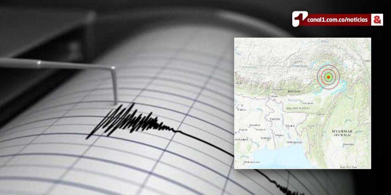 Sismo de magnitud 6,1 hizo temblar el noreste de India