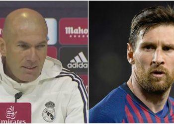 zidane frase contra el barcelona titulos liga española real madrid