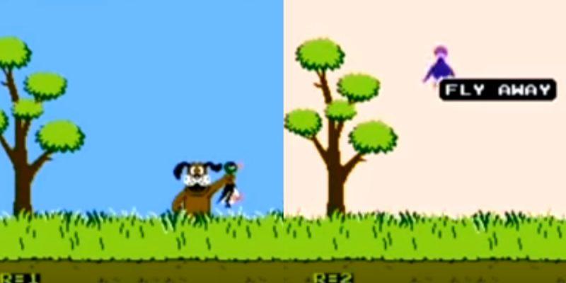 El truco del legendario juego Duck Hunt que seguro no sabías