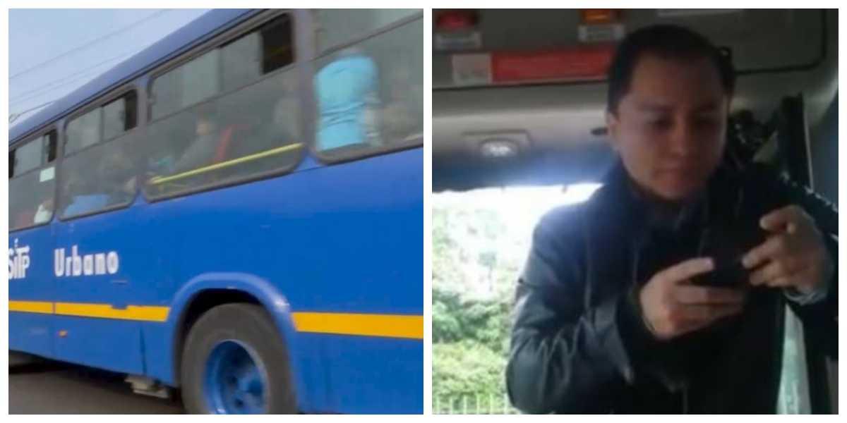 Video viral del 'conchudo' que se negaba pagar su pasaje de SITP hasta que un usuario lo bajó a las malas