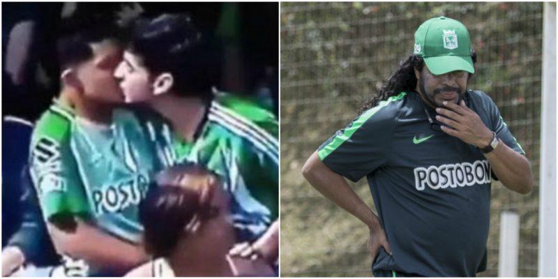 René Higuita bancó el beso gay entre jugadores de Atlético Nacional
