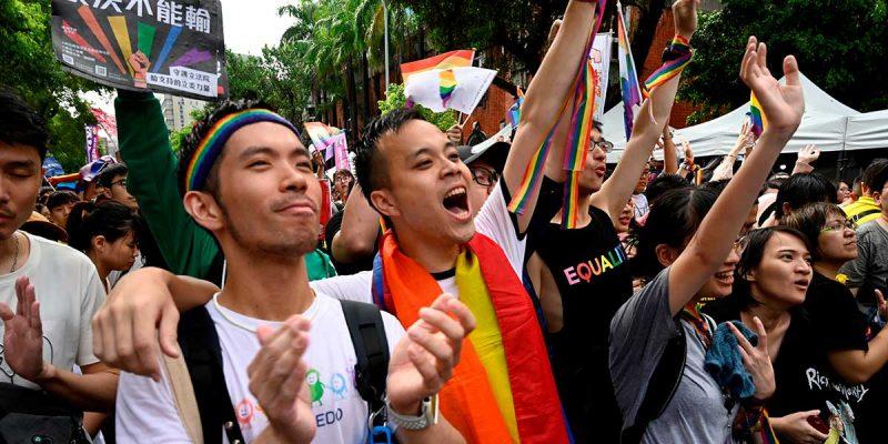Mundo: Taiwán, el primer país de Asia que legaliza el matrimonio igualitario