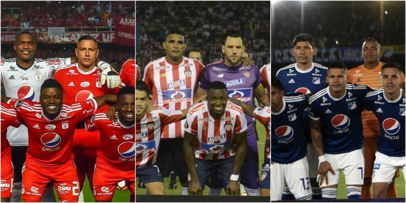 11 ideal futbol colombiano dimayor equipo