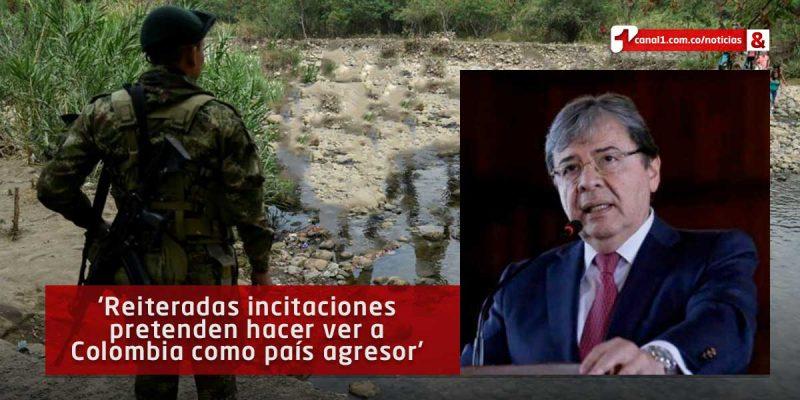 Gobierno colombiano denunció provocaciones de la Fanb en la frontera