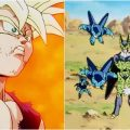 gohan cell junior batalla dragon ball z error