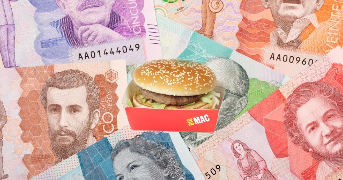 Las hamburguesas ahora son más caras en Colombia que en EE.UU.