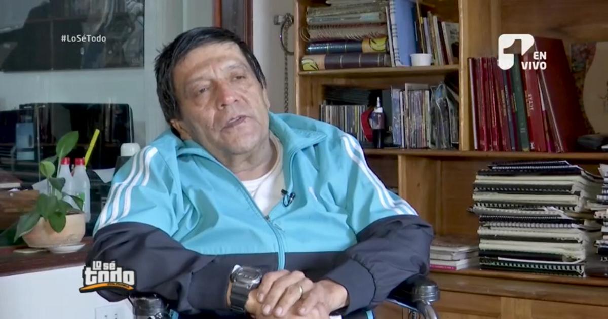 El actor Edgardo Román se encuentra en silla de ruedas y reveló las razones