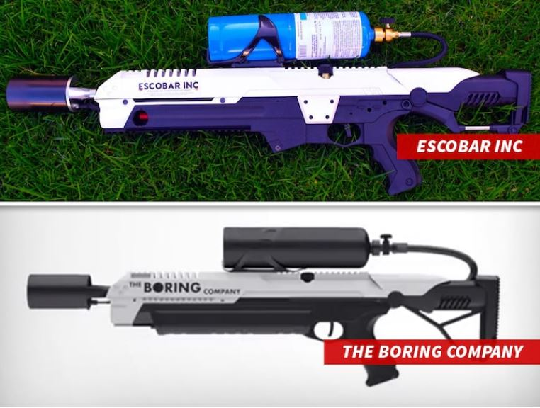 flame thrower is not flame thrower esobar inc