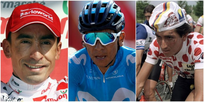 nairo quintana Galibier historia ciclismo tour de francia colombianos