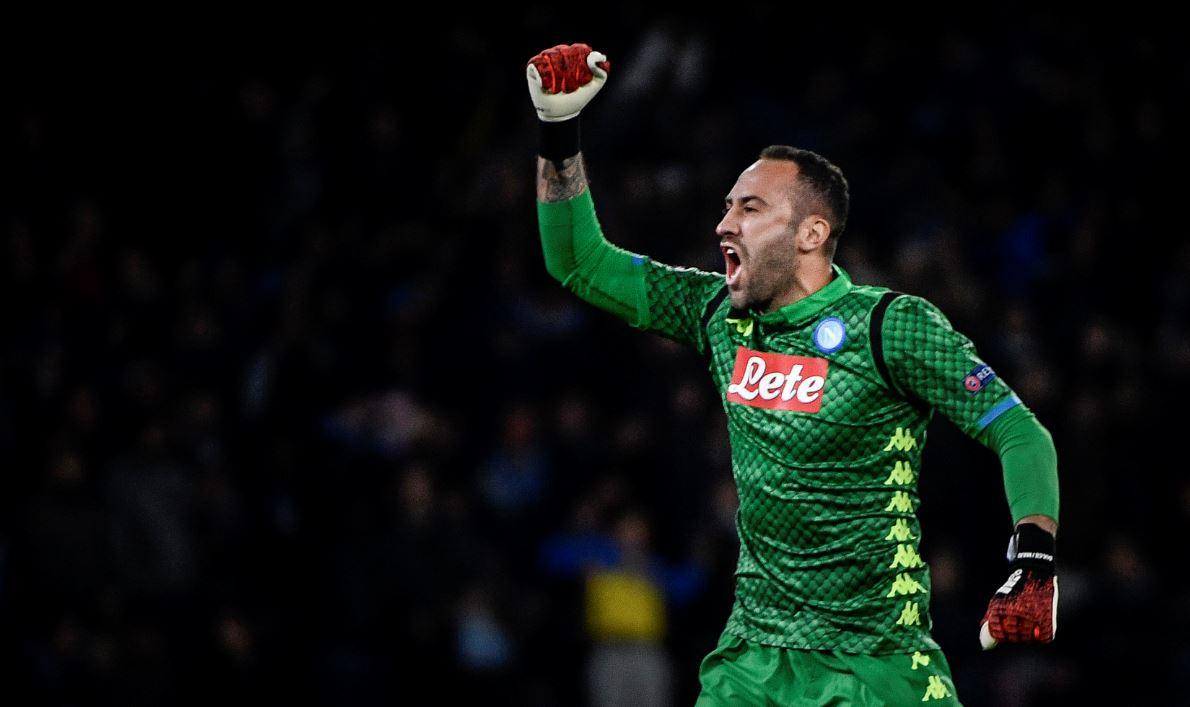 David Ospina atajó penal para el Napoli en Copa Italia